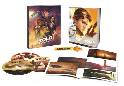 Solo - DVD Blu Ray Star Wars Solo A Star Wars Story  Br0210