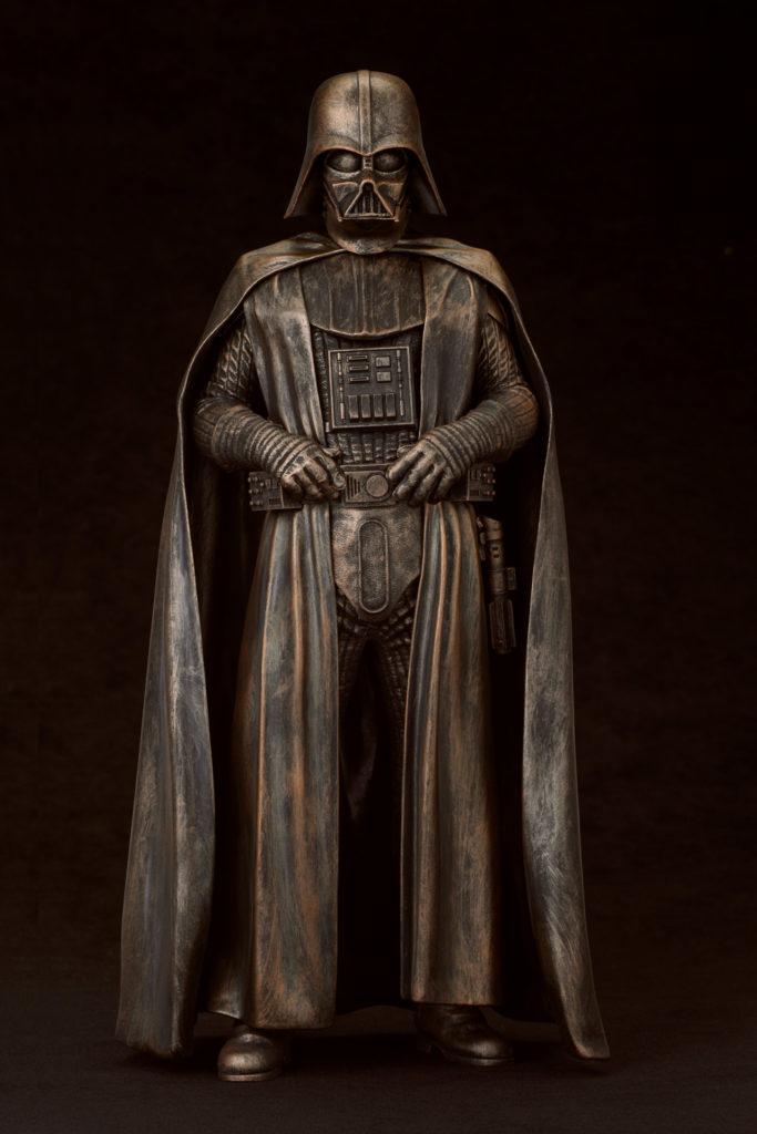 Bronze Darth Vader statue - KOTOBUKIYA EXCLU SWCC Bronze10