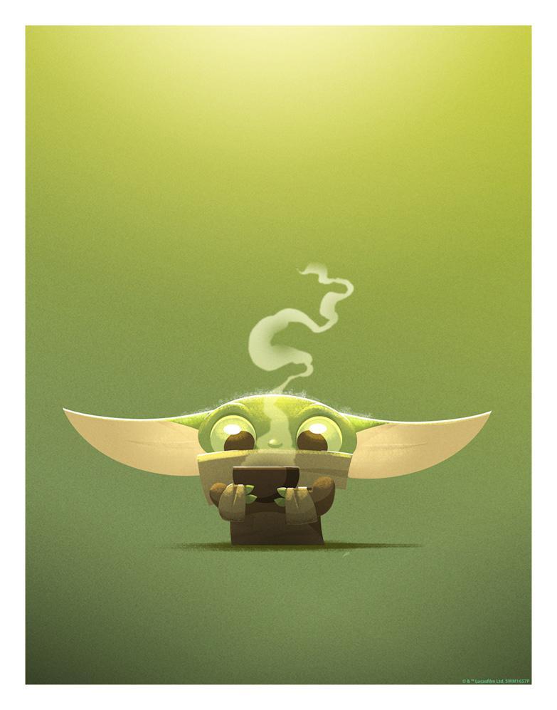 Gorgu / Baby Yoda / The Child - Nick Scurfield - Star Wars  Broth_10
