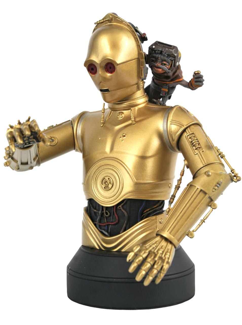 C3PO with Babu Frik mini bust - Gentle Giant C-3po_13