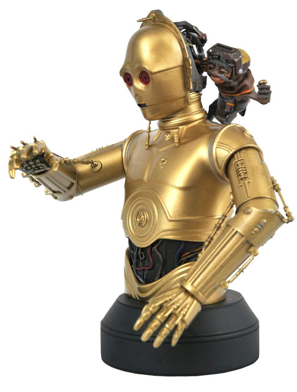 C3PO with Babu Frik mini bust - Gentle Giant C-3po_14