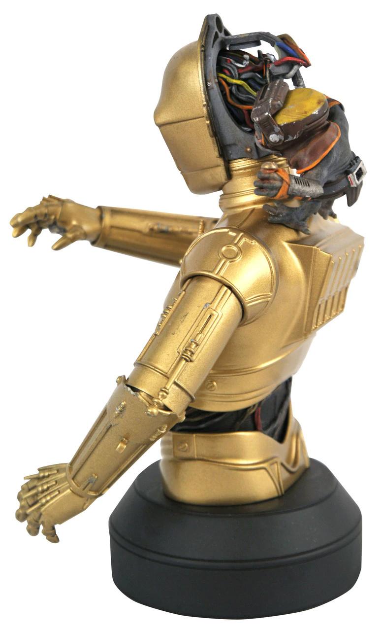 C3PO with Babu Frik mini bust - Gentle Giant C-3po_15