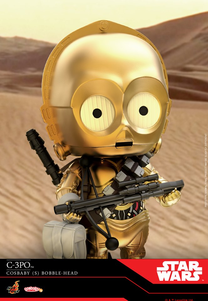 Star Wars The Rise of Skywalker - Cosbaby Bobble-Head  C3po11