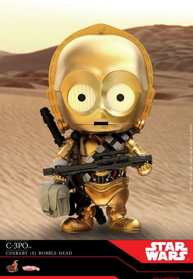 Star Wars The Rise of Skywalker - Cosbaby Bobble-Head  C3po_011