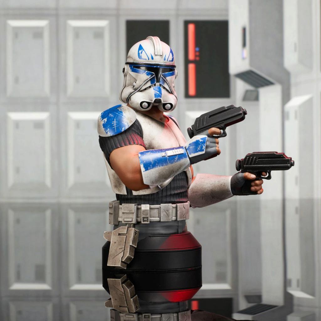 Captain Rex Deluxe Mini Bust Star Wars Rebels - Gentle Giant Captai12