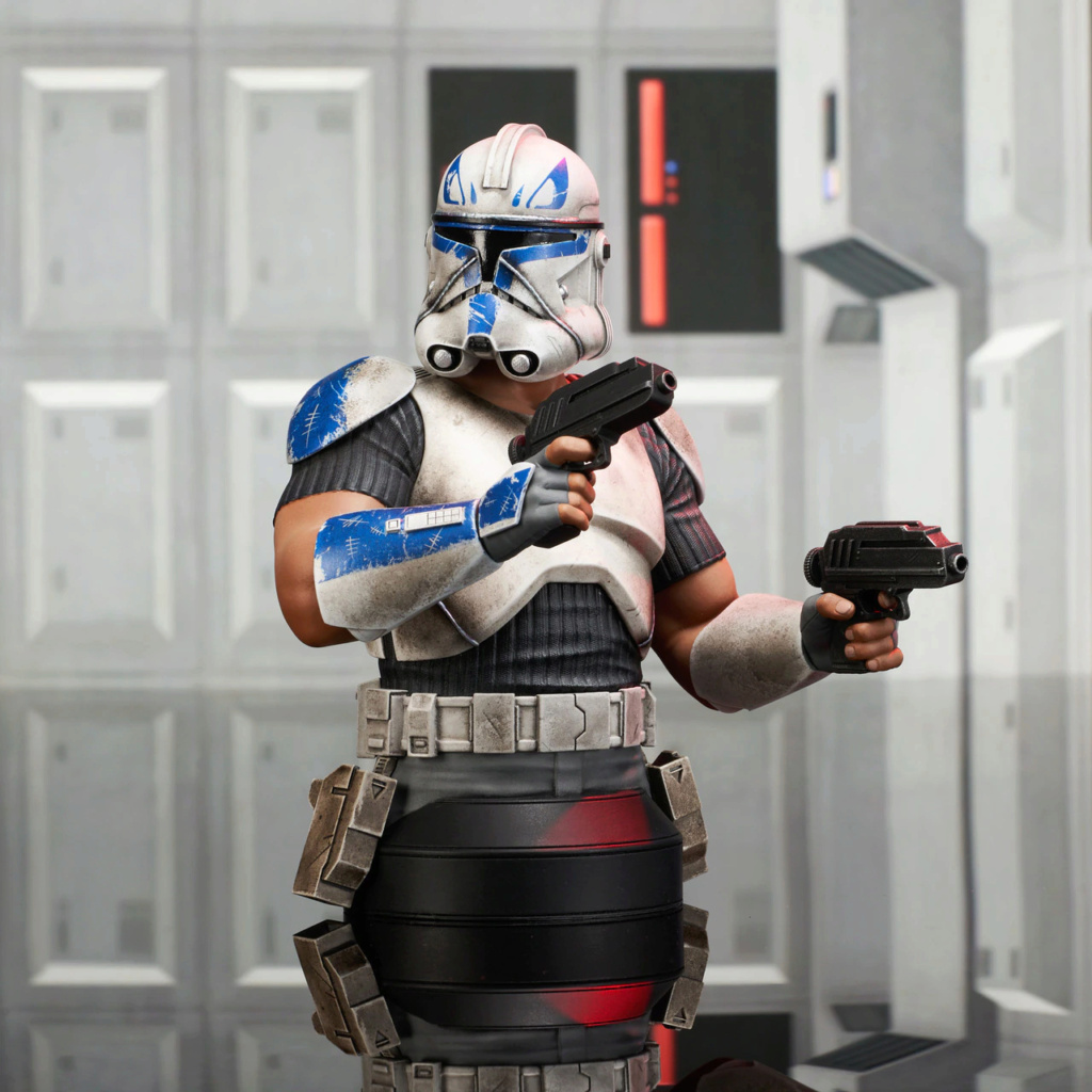 Captain Rex Deluxe Mini Bust Star Wars Rebels - Gentle Giant Captai13