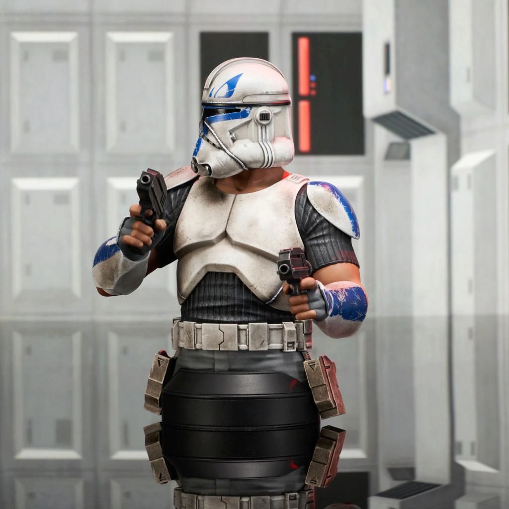 Captain Rex Deluxe Mini Bust Star Wars Rebels - Gentle Giant Captai14