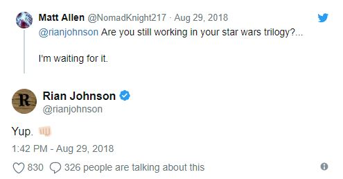 Les NEWS de la trilogie Star Wars by Rian Johnson Captur17