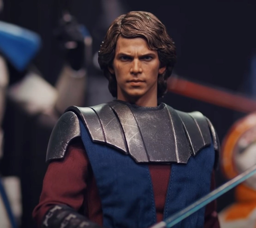 Anakin Skywalker (The Clone Wars version) Sixth Scale Figure Captur38