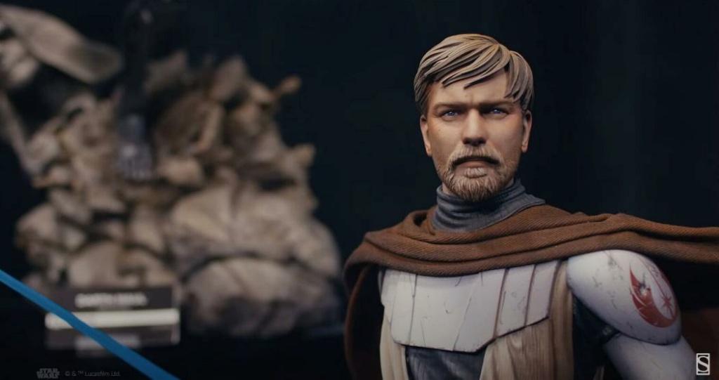 General Obi-Wan Kenobi Mythos Statue - Sideshow Captur40