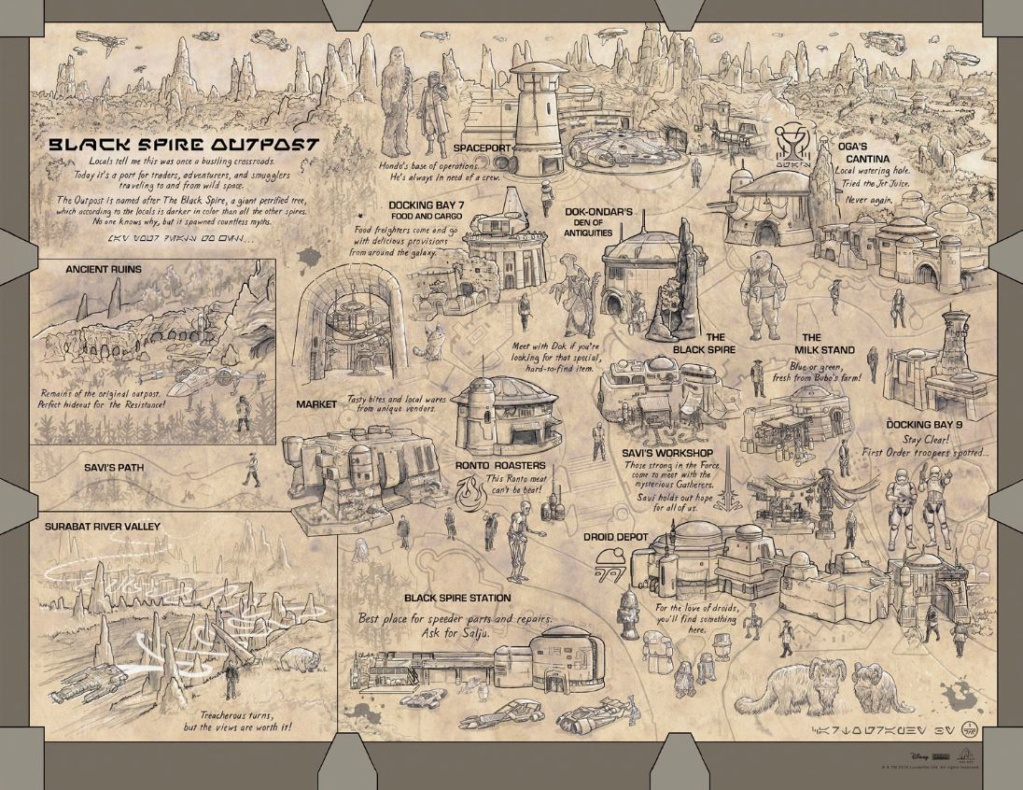 Les news Disney Star Wars: Galaxy's Edge aux Etats Unis (US) - Page 7 Carte10