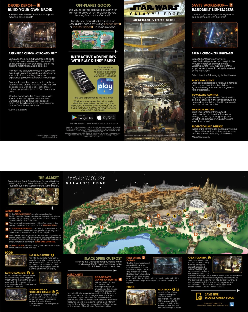 Les news Disney Star Wars: Galaxy's Edge aux Etats Unis (US) - Page 6 Carte_11