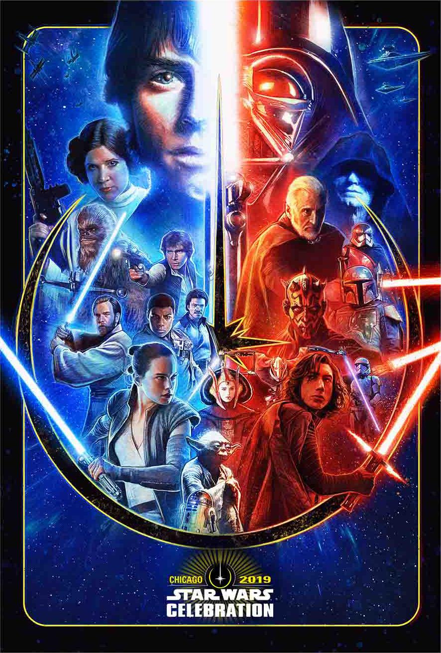 Star Wars Celebration 2019 - Chicago - 11-15 Avril 2019 Celebr10