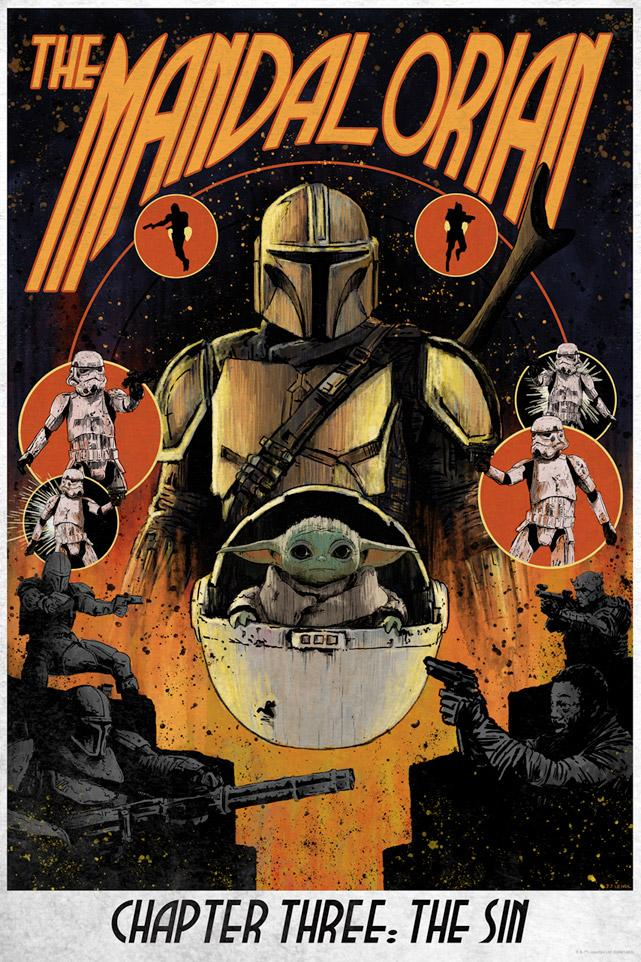 Chapter 3: The Sin - Star Wars The Mandalorian - ACME   Chapte12