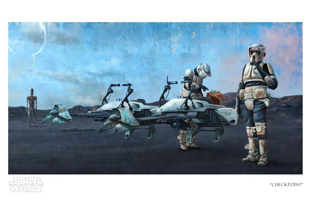 Checkpoint - Artwork Star Wars - ACME Archives Checkp10