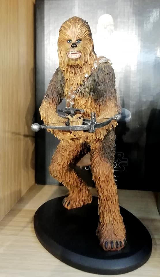 ATTAKUS - Star Wars Elite Collection 1/10 Chewbacca Statue Chewie11