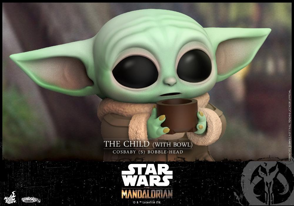 Star Wars The Mandalorian - Cosbaby Bobble-Head - Hot Toys Child_12