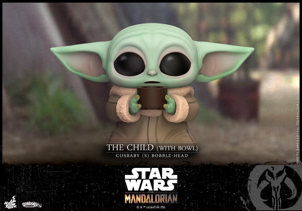 Star Wars The Mandalorian - Cosbaby Bobble-Head - Hot Toys Child_13