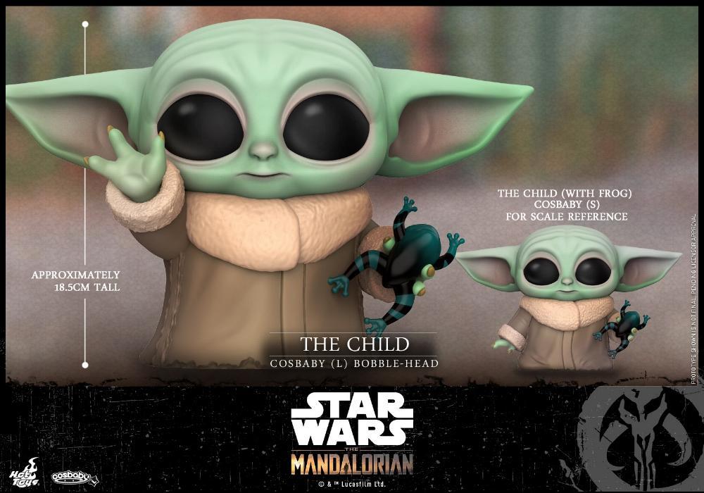 Star Wars The Mandalorian - Cosbaby Bobble-Head - Hot Toys Child_19