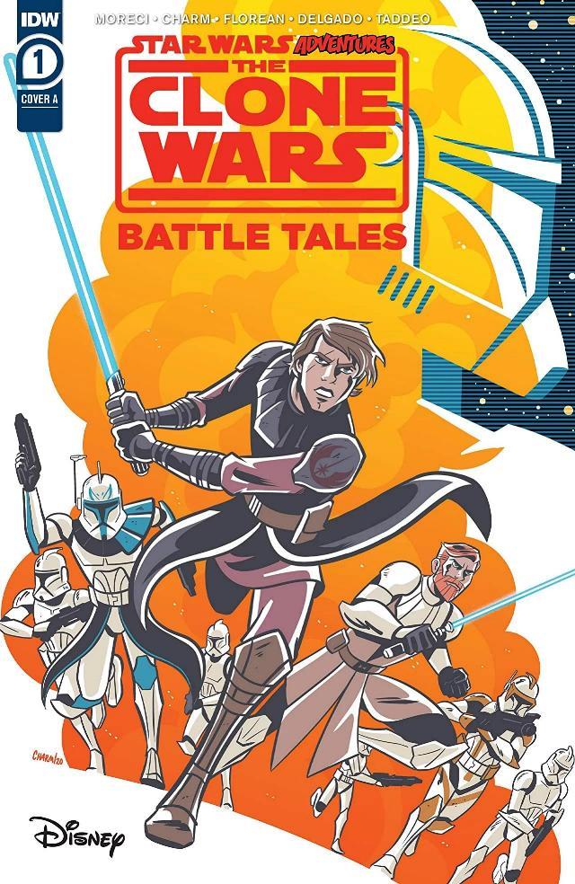 Star Wars Adventures: Clone Wars BATTLE TALES - IDW Clone-19