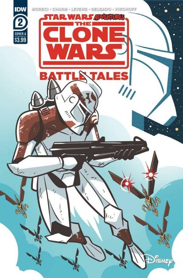 Star Wars Adventures: Clone Wars BATTLE TALES - IDW Clone-20