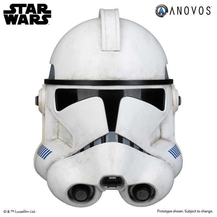 ANOVOS STAR WARS - Clone Trooper Phase II Helmet Clone_14