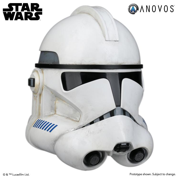 ANOVOS STAR WARS - Clone Trooper Phase II Helmet Clone_15