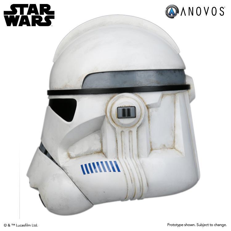 ANOVOS STAR WARS - Clone Trooper Phase II Helmet Clone_16