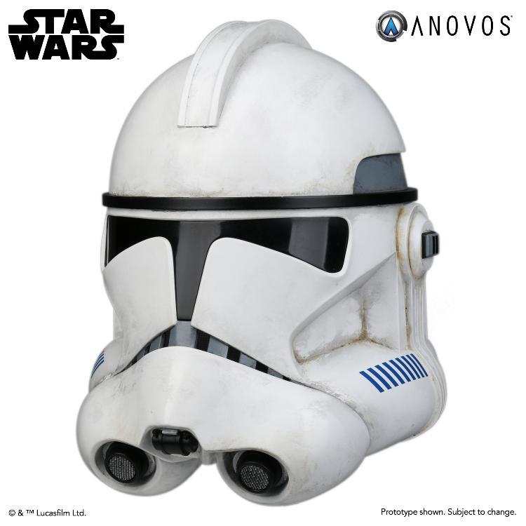 ANOVOS STAR WARS - Clone Trooper Phase II Helmet Clone_17