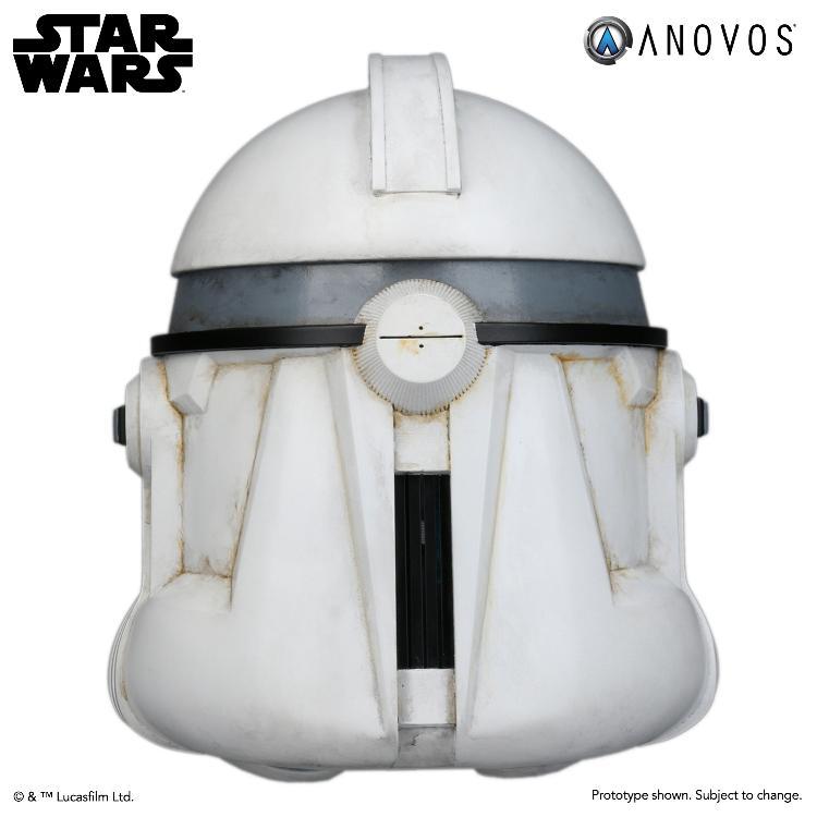 ANOVOS STAR WARS - Clone Trooper Phase II Helmet Clone_18