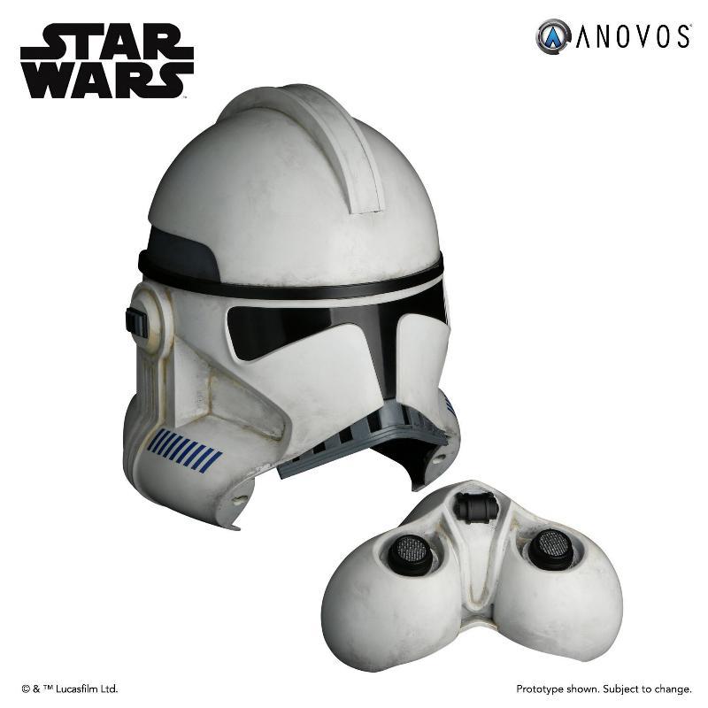 ANOVOS STAR WARS - Clone Trooper Phase II Helmet Clone_20
