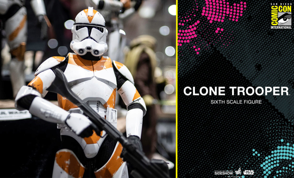 Clone Trooper Sixth Scale Figure - Hot Toys Star Wars Clonet10