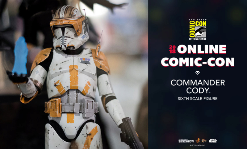 Hot Toys Star Wars - Commander Cody Sixth Scale Figure Cody_010