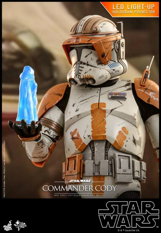 Hot Toys Star Wars - Commander Cody Sixth Scale Figure Cody_012