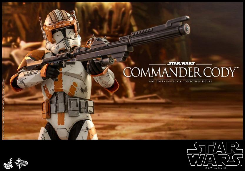 Hot Toys Star Wars - Commander Cody Sixth Scale Figure Cody_013