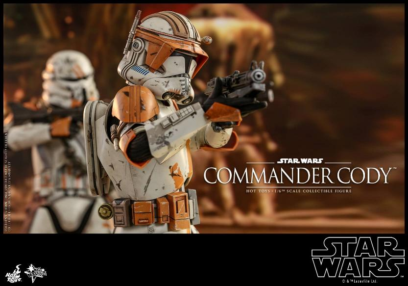 Hot Toys Star Wars - Commander Cody Sixth Scale Figure Cody_014