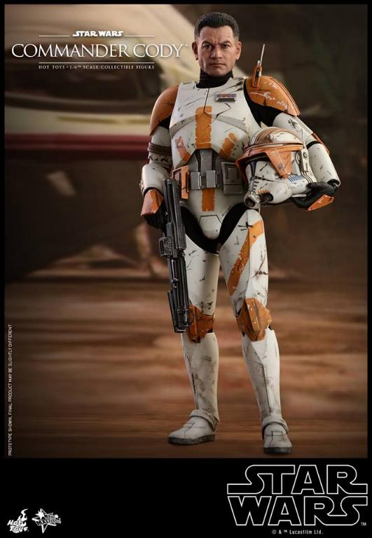 Hot Toys Star Wars - Commander Cody Sixth Scale Figure Cody_015