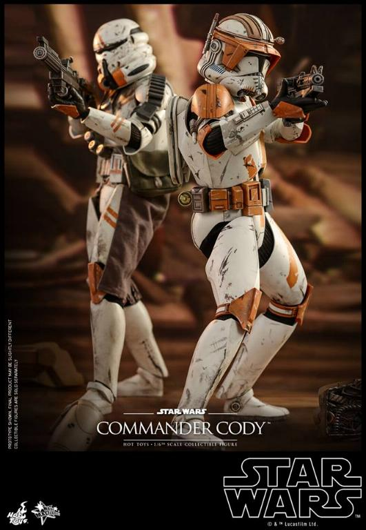 Hot Toys Star Wars - Commander Cody Sixth Scale Figure Cody_016