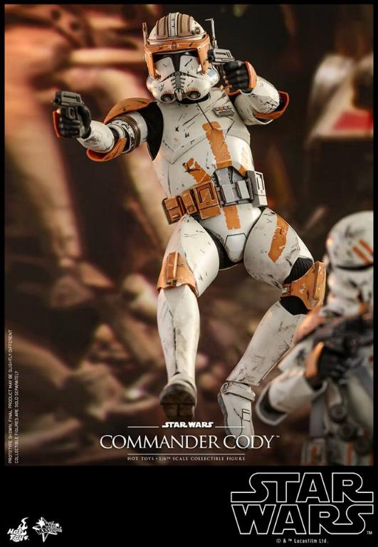Hot Toys Star Wars - Commander Cody Sixth Scale Figure Cody_017