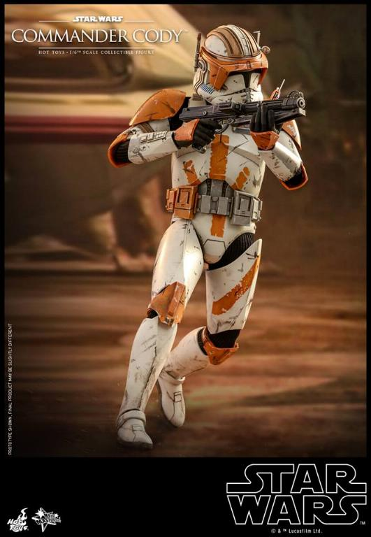 Hot Toys Star Wars - Commander Cody Sixth Scale Figure Cody_018