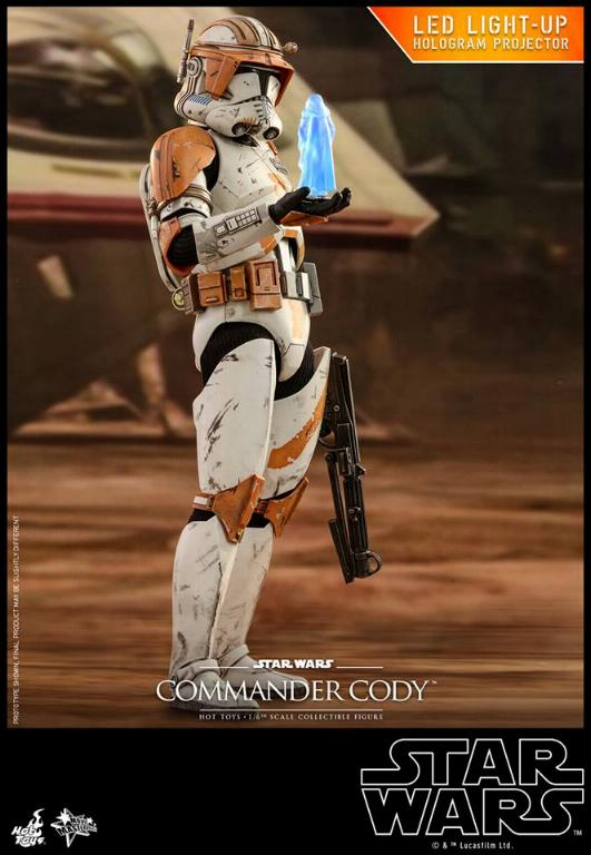 Hot Toys Star Wars - Commander Cody Sixth Scale Figure Cody_110