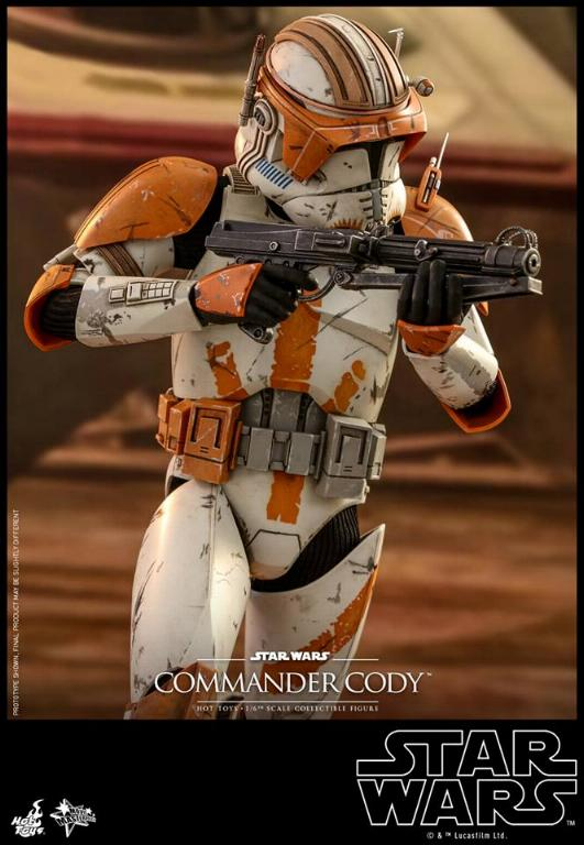 Hot Toys Star Wars - Commander Cody Sixth Scale Figure Cody_111