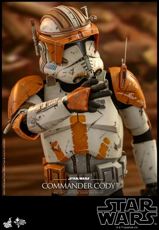 Hot Toys Star Wars - Commander Cody Sixth Scale Figure Cody_112