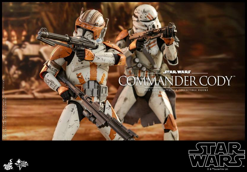Hot Toys Star Wars - Commander Cody Sixth Scale Figure Cody_113