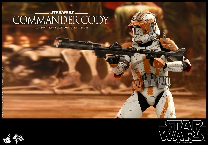Hot Toys Star Wars - Commander Cody Sixth Scale Figure Cody_115