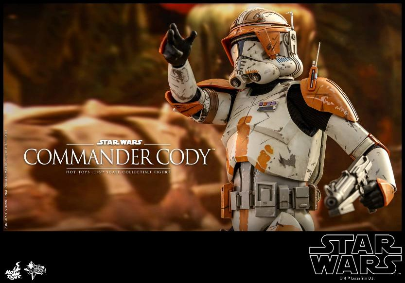 Hot Toys Star Wars - Commander Cody Sixth Scale Figure Cody_116