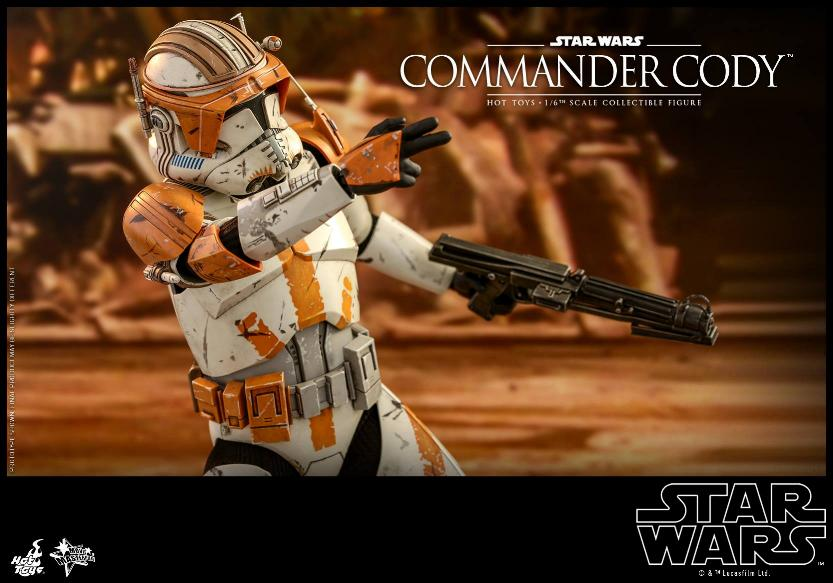 Hot Toys Star Wars - Commander Cody Sixth Scale Figure Cody_117