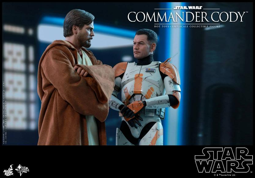 Hot Toys Star Wars - Commander Cody Sixth Scale Figure Cody_118