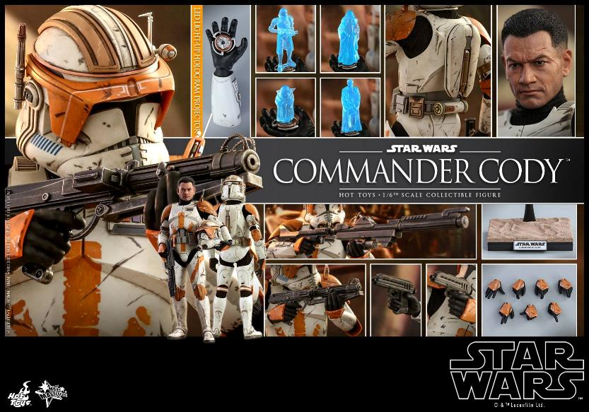 Hot Toys Star Wars - Commander Cody Sixth Scale Figure Cody_218
