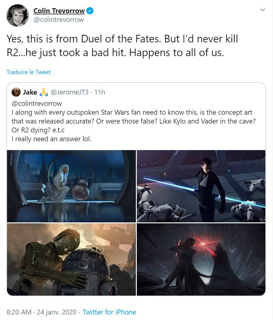 Star Wars IX - Duel of the Fates - Colin Trevorrow Colin_10